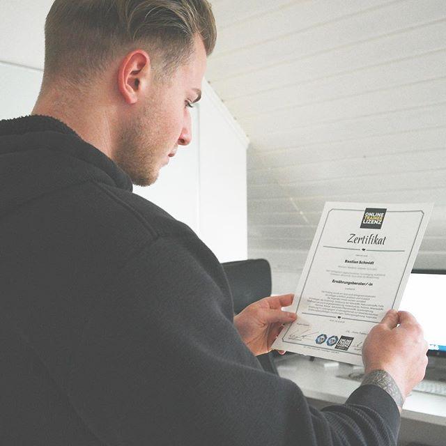 Ernährungsberater Lizenz bei Online Trainer Lizenz Erfahrung Prüfung Prüfungsfragen