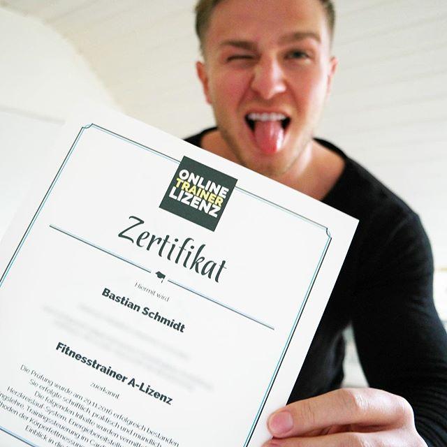 Fitnesstrainer A Lizenz bei Online Trainer Lizenz Erfahrung Prüfung Prüfungsfragen
